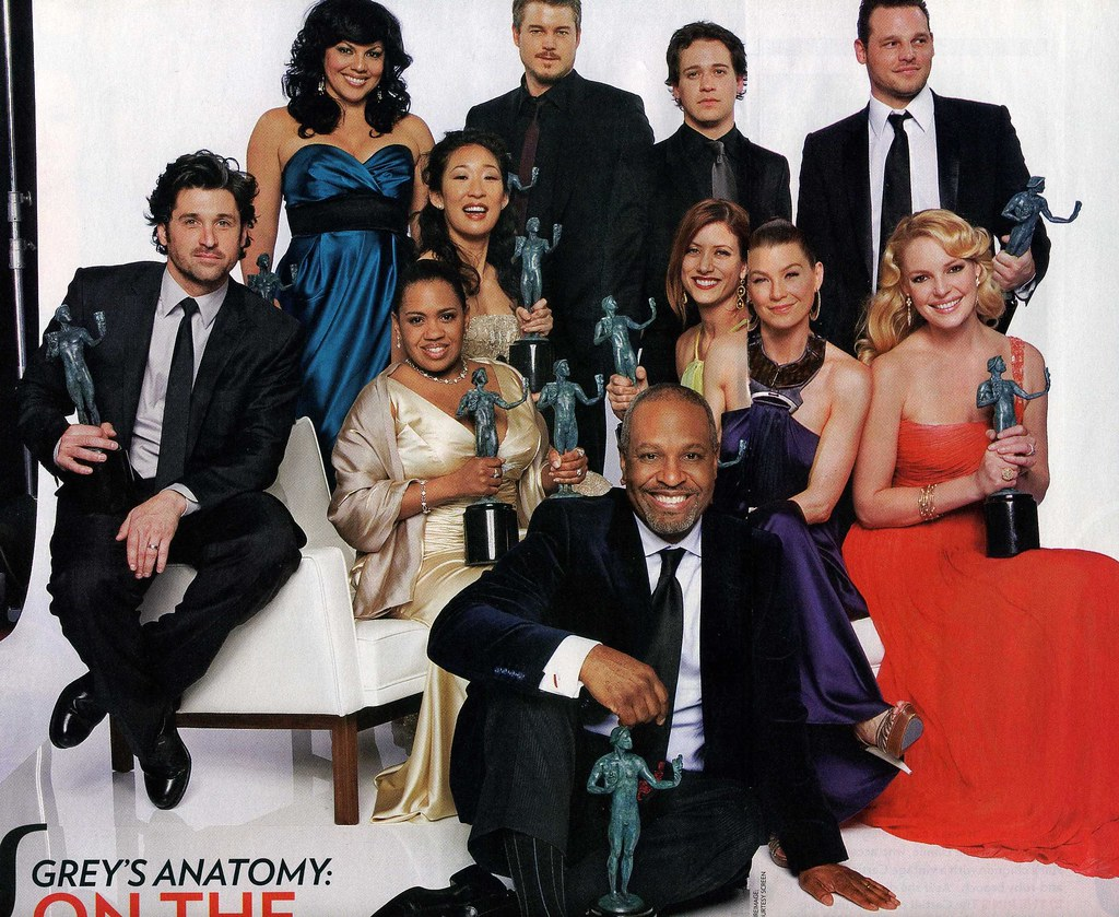 Grey\'s Anatomy Cast | Feb 12 2007 SAG Awards - Grey\'s Anatom ...