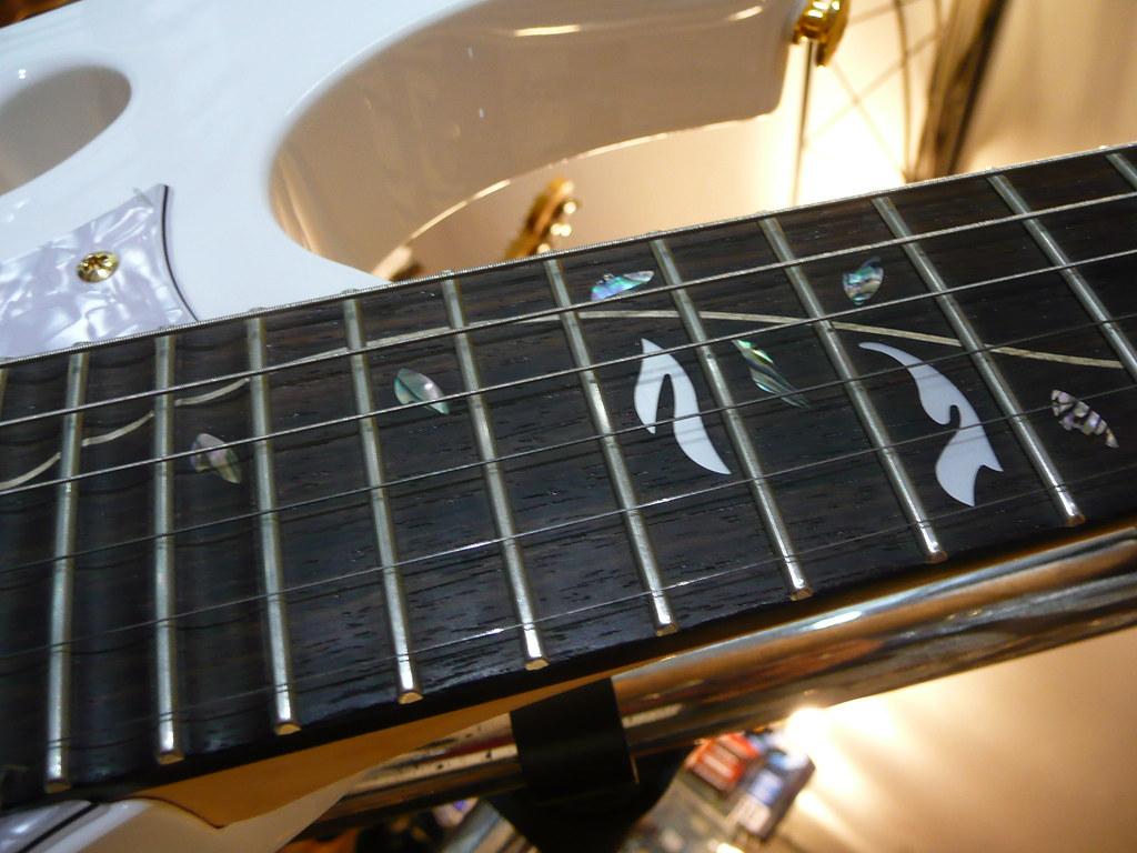 Guitare Ibanez JEM7V Steve Vai Signature | Joris KRAWCZYK