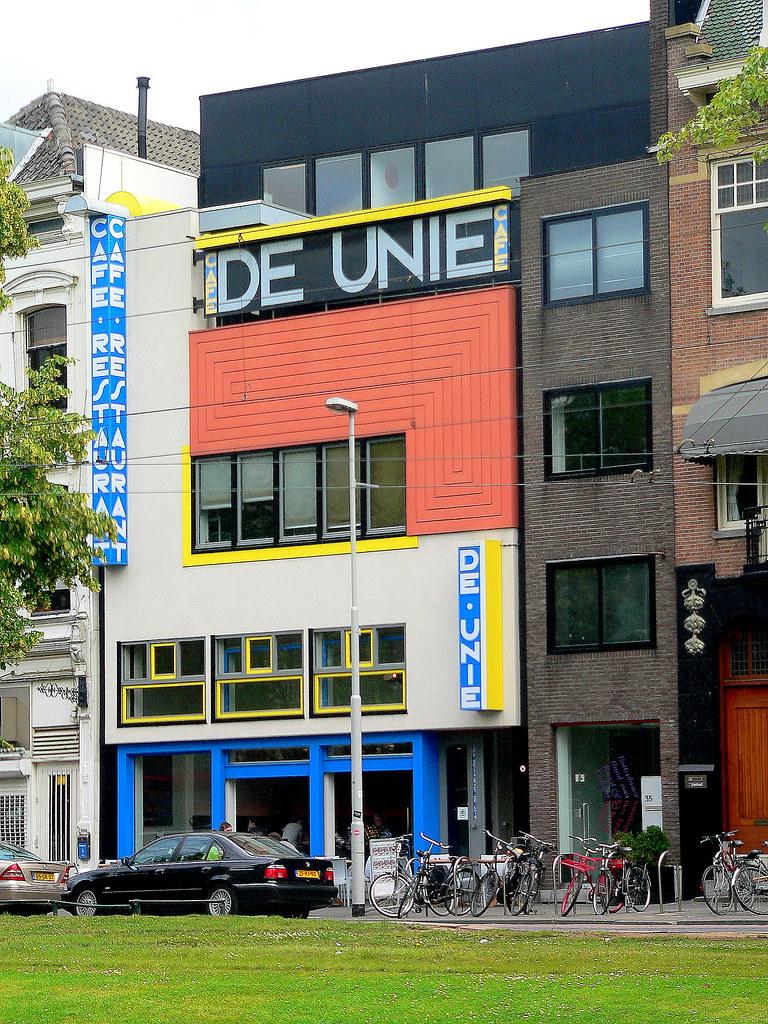 Populair Rotterdam: Café De Unie, JJP Oud (1925) | Café De Unie, JJP … | Flickr @YN45