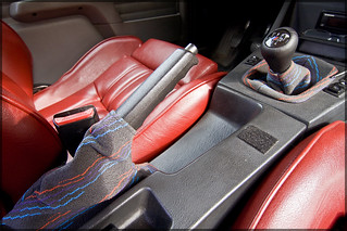 1988 325iS M52 Ground Control Slipstream Cardinal Interior MTech Cloth | by Halston Pitman | MotorSportMedia