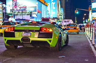 LP640 Roadster in Times Square | by KlausKniehase / KneeRabbit