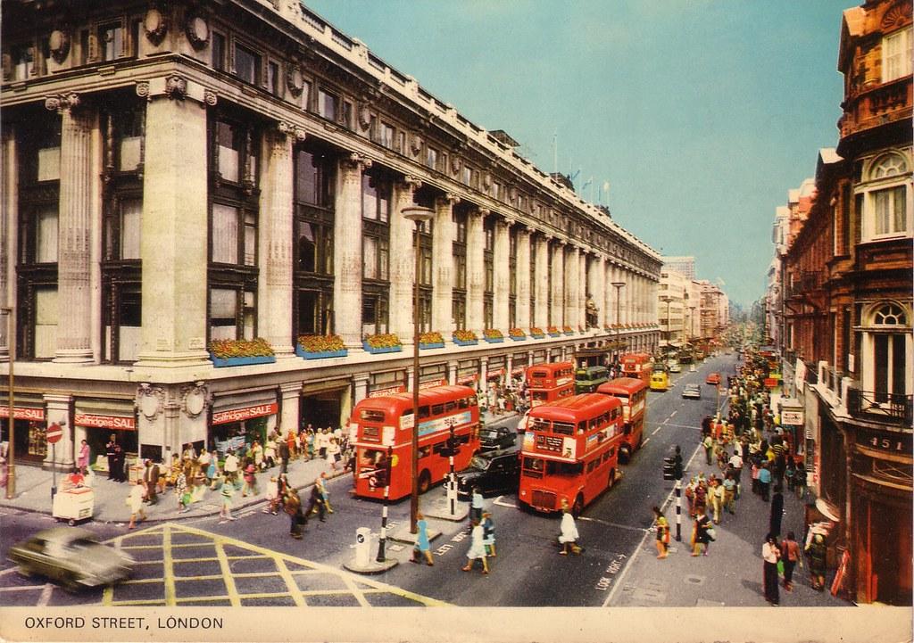 londres london oxford street 1974 pt1016 colourmaste flickr