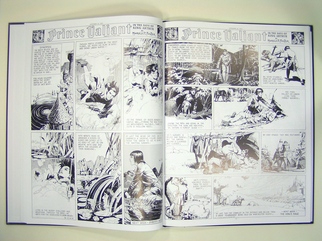 1: 1937-1938 by Hal Foster (Libri Impressi Edition) | Flickr