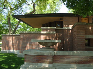 Frederick C Robie House The Dramatic Cantilevered Roof