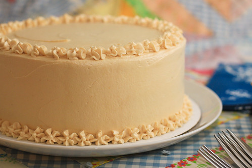 Carrot Cake with Caramel Buttercream Frosting | by the boastful baker