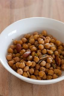 warm chickpea salad | by jules:stonesoup