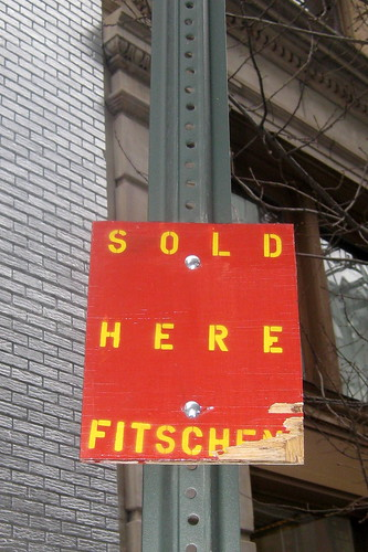 NYC - SoHo - Sold Here by Fitschen | by wallyg
