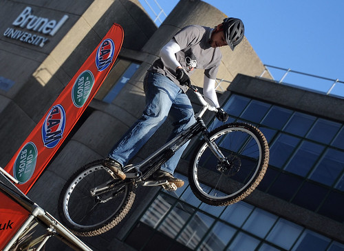 MAD Bike Stunts on the Concourse | by Brunel University London