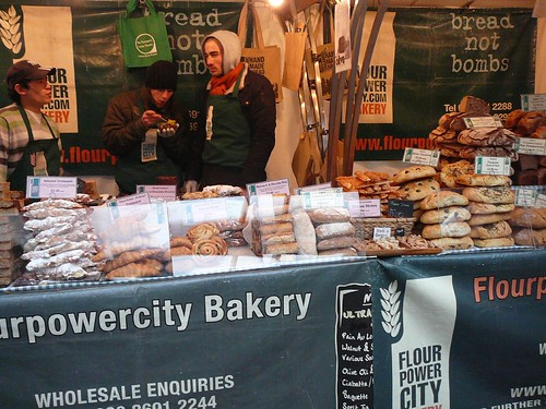 Spitalfields Market baked goods