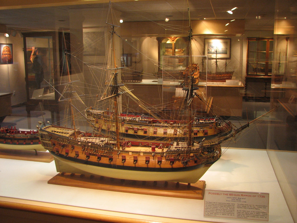 Rogers Ship Model Collection US Naval Academy Museum A Flickr - Ship museums in us