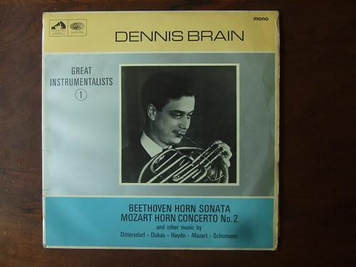 Beethoven - Horn Sonata, Mozart - Horn Concerto No.2, Dittersdorf, Dukas, Haydn, Schumann - Dennis Brain, Horn | by Piano Piano!