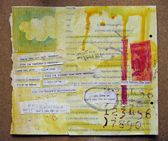 Violet Hill {art journal page} | by Pretty Arty