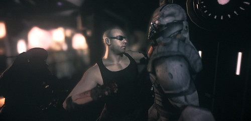 The Chronicles of Riddick Assault on Dark Athena screenshots | by gamesweasel