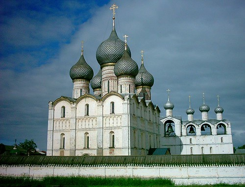 Uspensky sobor (Успенский собор, Assumption cathedral) Rostov Veliky | by Frans.Sellies