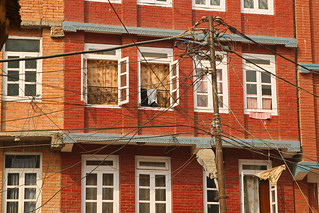 Myriad of electricy lines in Kathmandu | by World Bank Photo Collection
