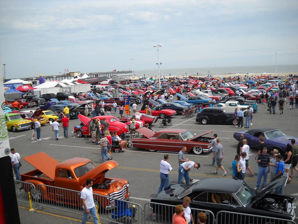 OCEAN CITY MDCAR SHOW MAY Inlet Car Show Bill Flickr - Ocean city car show