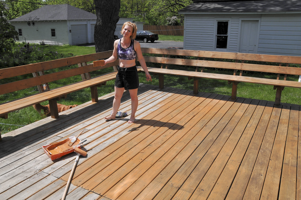 best deck sealer and stain