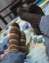 Handknit Socks | by dan_spun