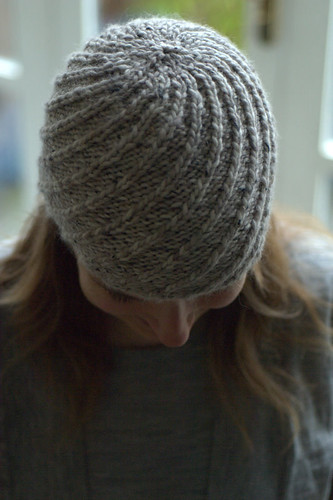 swirly hat | by knitfaced