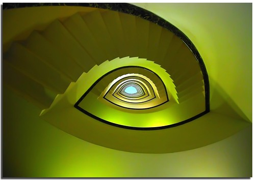 "The green eye | "" Spiral staircases and staircases project ..."