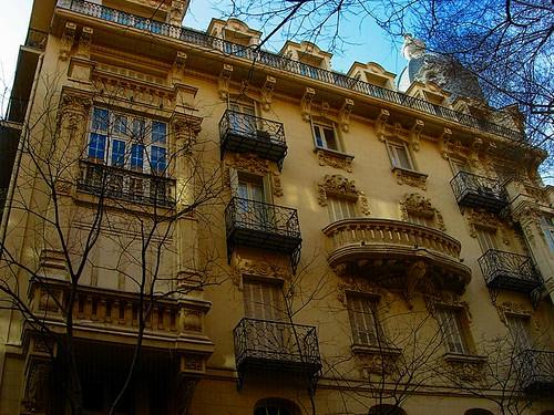 Edificio mar a ngeles espeli s calle castell madrid - Calle castello madrid ...