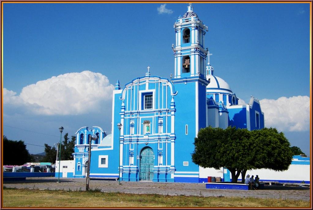 Templo de Santa María Asunción en Molcaxac