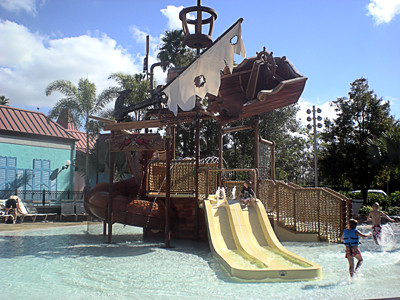 Caribbean Beach Resort Kiddie Pool