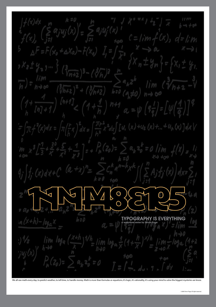 Numb3rs Poster Numbers Massive Fan Of The Numb3rs Fbi Ser Flickr