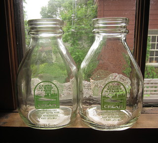 Cedar Summit Farm Cream Bottles | by katbaro