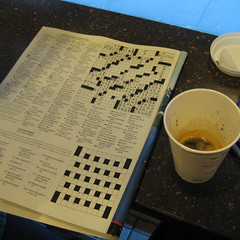 95/365 - ny times crossword | by mere2007