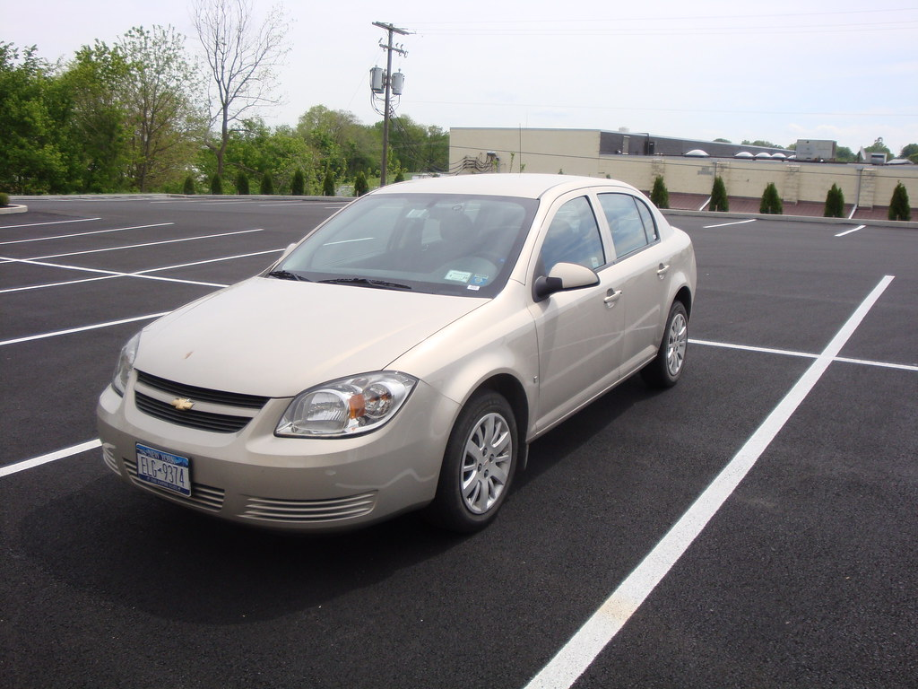 Cobalt chevy cobalt lt 2009 : 2009 Chevy Cobalt LT | My rental car...every body panel has … | Flickr