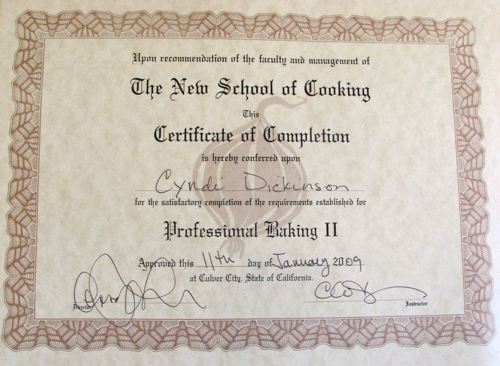 Professional Baking and Pastry II Certificate from The New…   Flickr
