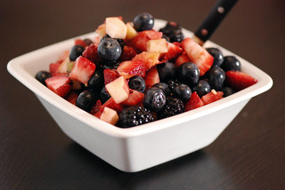 Three Berry Fruit Salad | by swellvegan