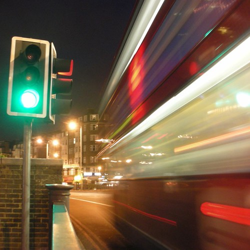 Blur . Bus . 2009 | by tonyhall