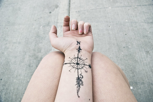 compass of arrows | by yyellowbird