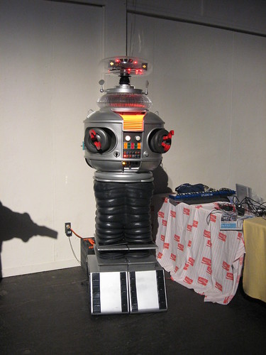 Lost in Space Robot at Maker Faire | by The Official Star Wars