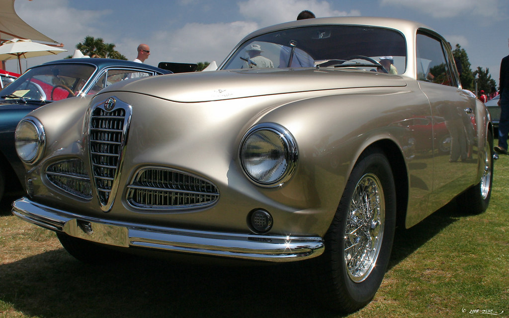 1951 Alfa Romeo 1900 Touring Berlinetta Gold Fvl2 Flickr