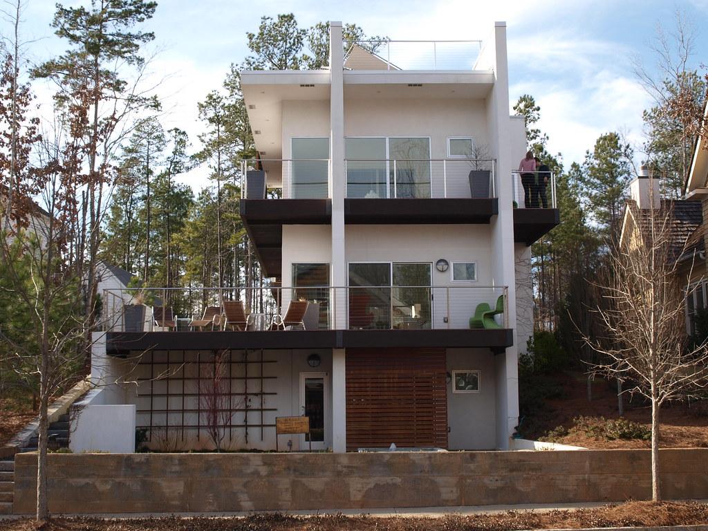 Modern house at Serenbe, near Palmetto, Georgia | See how th… | Flickr