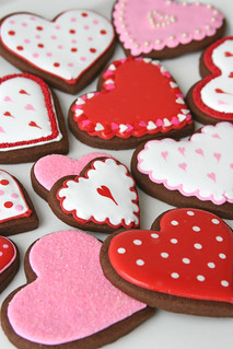 Chocolate Valentine's Cookies | by Glorious Treats
