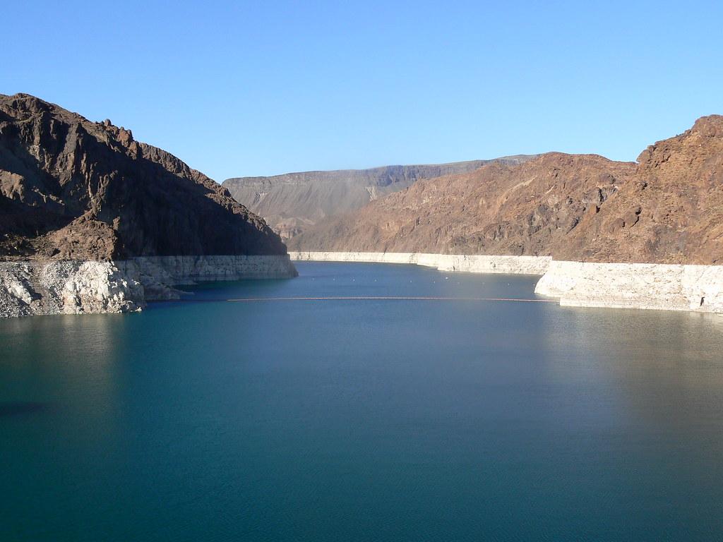 Lake mead near las vegas taken from hoover dam showing whi… | Flickr