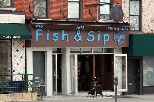 Fish & Sip, Park Slope, Brooklyn | by Eating In Translation