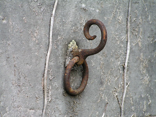 Rusty old hook | by emusing-emma