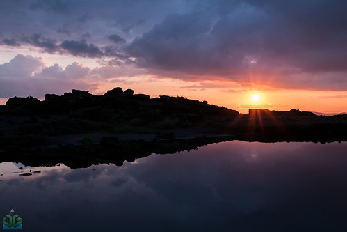 Doxey Pool Sunset - The Roaches | by James G Photography