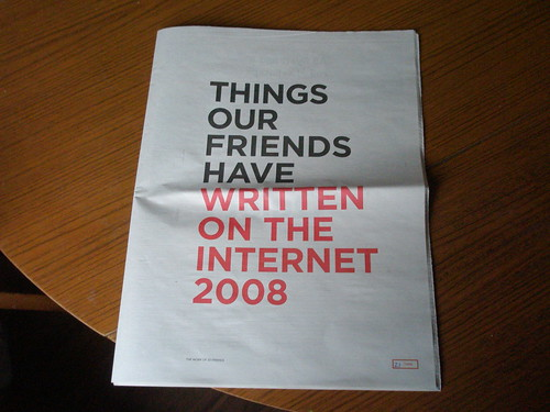 Things our friends have written on the internet 2008 #26 | by I like