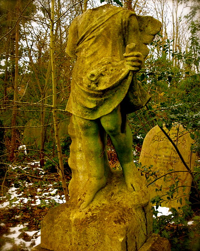 green legs at abney park cemetery | by garethbee