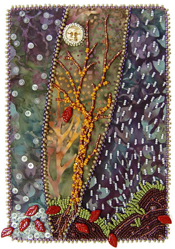 The last leaf bead journal project for nov