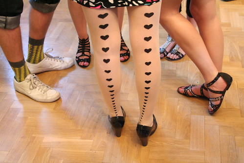 Students legs | by Princess Tat of Tinkle Shed