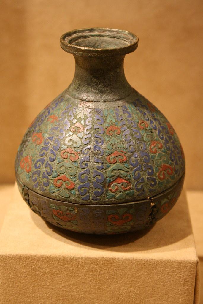 Romano Gallic Copper Alloy Inlaid With Champleve Enamel Va Flickr