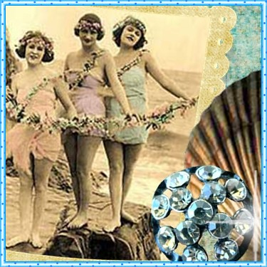 vintage seaside avatar | by Sea Dream Studio