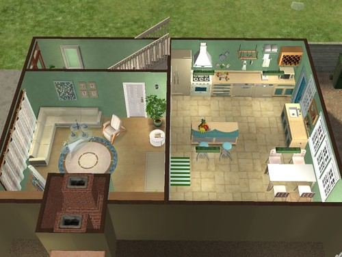 the sims 2 - house plans | flickr